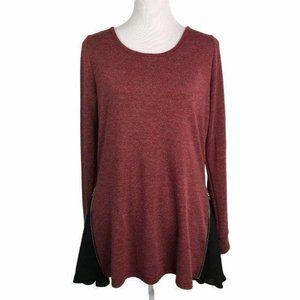 Patrizia Luca Milano Long Slit Sleeves Sweater
